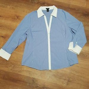 Ann Taylor Tailored Career Shirt